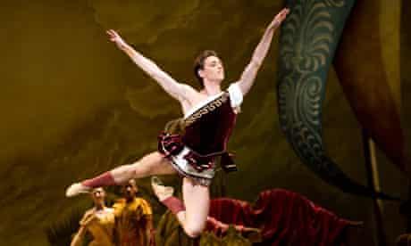 Sergei Polunin as Aminta in the Royal Ballet's Sylvia.