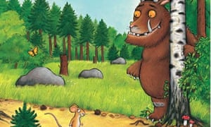 An illustration from The Gruffalo by Julia Donaldson and Axel Scheffler