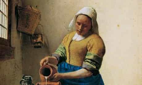 Vermeer's The Milkmaid