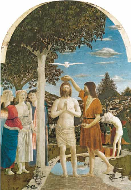 Piero della Francesca's The Baptism of Christ