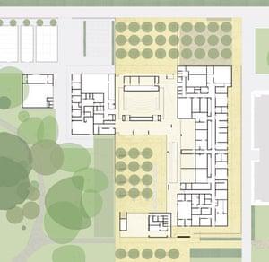 Sainsbury Laboratory, University of Cambridge, ground floor plan