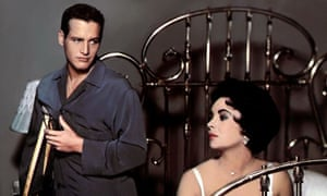 the cat on a hit tin roof film be censored but in some ways  paul newman as brick and elizabeth taylor as maggie in cat on a hot tin roof