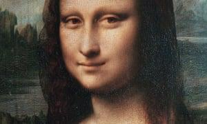 Leonardo da Vinci's Mona Lisa. Click for full image.
