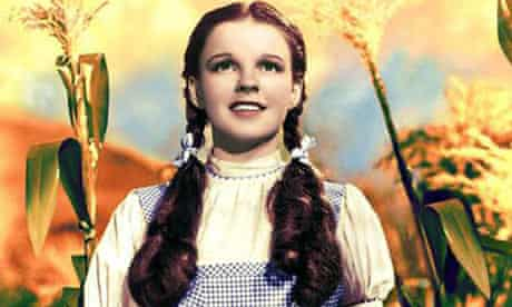 Judy Garland as Dorothy in the dress