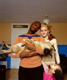 Asher, Cassie, Harlem & Blaze (dog)