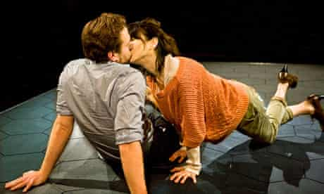 Rafe Spall and Sally Hawkins in Constellations by Nick Payne at the Jerwood Theatre Upstairs