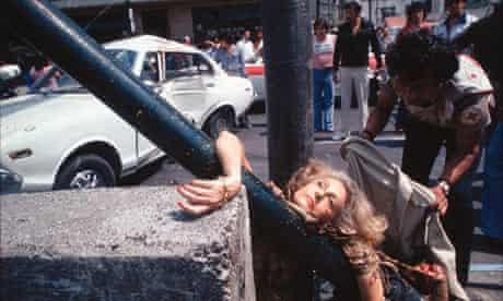 Enrique Metinides's photograph of the death of Adela Legarreta Rivas