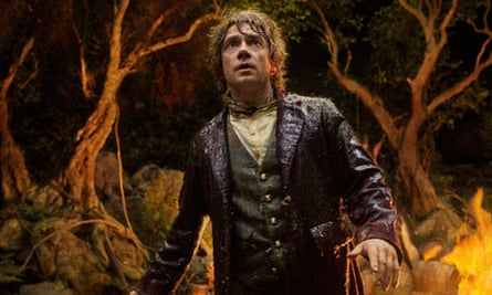 Actor Martin Freeman in The Hobbit: An Unexpected Journey