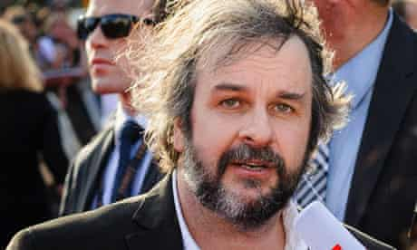 Director Peter Jackson at world premiere of The Hobbit: An Unexpected Journey in New Zealand