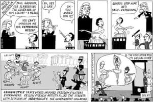 Peter Duggan's artoon - Gangnam style