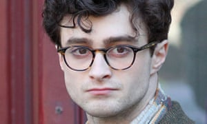 Daniel Radcliffe on the set of Kill Your Darlings (2013)