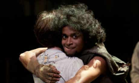 Hiran Abeysekera as the Changeling Baby in Rats' Tales