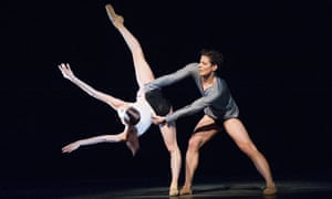 A scene from Infra from the Royal Ballet's Triple Bill