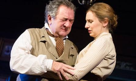 Ken Stott and Laura Carmichael in Uncle Vanya in the West End