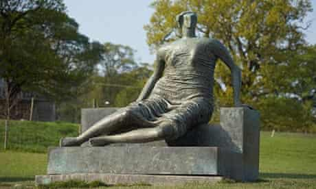 Henry Moore's Draped Seated Woman, which Tower Hamlets council wanted to sell off.