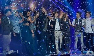 The X Factor final live on ITV1