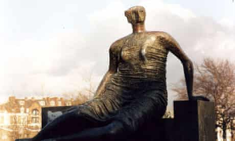 Henry Moore's Draped, Seated Woman (1957-8)