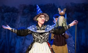 Hansel and Gretel at the National Theatre Cottesloe, London.
