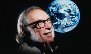 Science fiction author Isaac Asimov