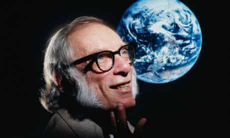 Science fiction author Isaac Asimov