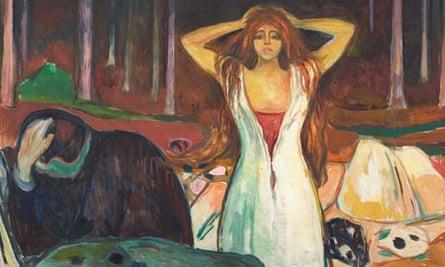 Edvard Munch, Ashes 1925