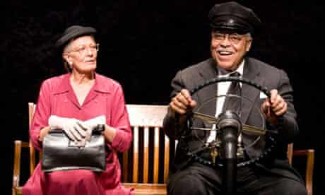 Star turns … Vanessa Redgrave and James Earl Jones in Driving Miss Daisy.