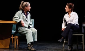 Patti LuPone, left, and Debra Winger in David Mamet play The Anarchist