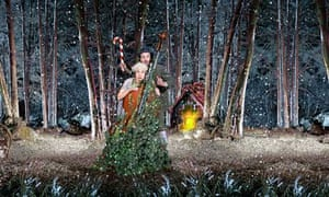 New International Encounter's Hansel and Gretel, at the Tobacco Factory in Bristol