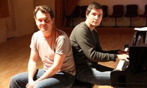 Mark Stone (left) and Simon Lepper