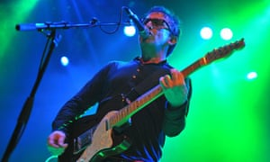 Ian Broudie of the Lightning Seeds at Shepherd's Bush Empire