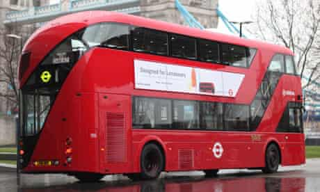 New Routemaster bus