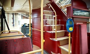 New Routemaster bus – staircase