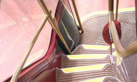 New Routemaster bus - staircase
