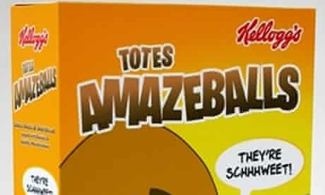 Kellogg's Totes Amazeballs, inspired by a tweet from Tim Burgess
