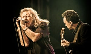 Robert Plant and Justin Adams at Womad Abu Dhabi in 2009