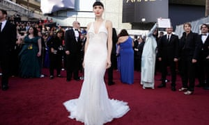 Rooney Mara arrives at the 84th Academy Awards in Hollywood