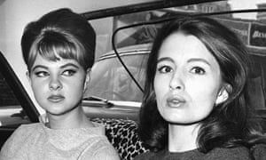 Christine Keeler and Mandy Rice Davies