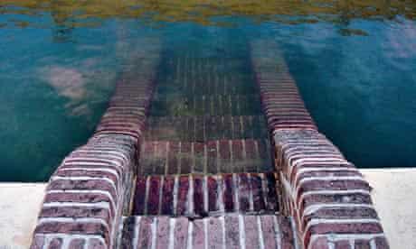 John Pawson's photograph of submerged steps