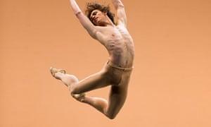 Sergei Polunin in Narcisse from Men In Motion by Ivan Putrov at Sadler's Wells, London.
