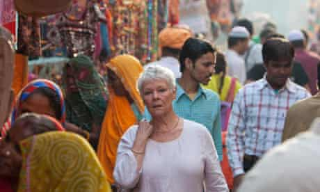 Judi Dench in The Best Exotic Marigold Hotel