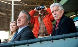 HBO's Luck, starring  Joan Allen, Dustin Hoffman, John Ortiz and Dennis Farina