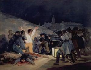 Goya's The Third of May, 1808