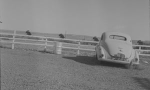 Ed Ruscha's worst shot of a car on Route 66