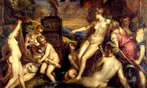 Diana and Callisto by Titian