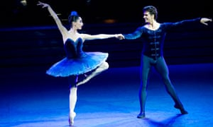 Tamara Rojo and Guillaume Cote in Rhapsody In Blue from Strictly Gershwin