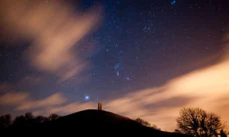 Somerset night sky