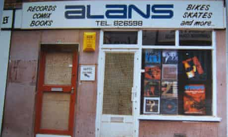 The Legendary Alan's Record Shop in Wigan