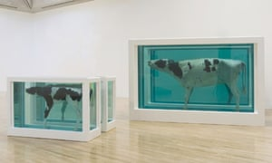 Mother and Child Divided by Damien Hirst