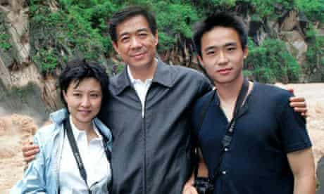 Bo Xilai, his wife and his son undated.