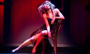 Emi Wokoma as Tina Turner in Soul Sister.